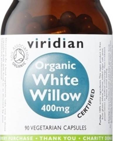 Viridian Organic White Willow 400 90 kapsúl