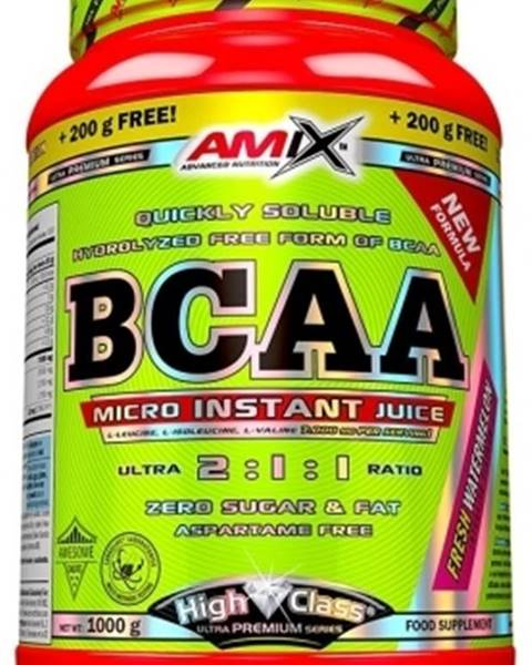 Amix Nutrition Amix Nutrition Amix BCAA Micro Instant Juice 800 g + 200 g ZADARMO! variant: ananás