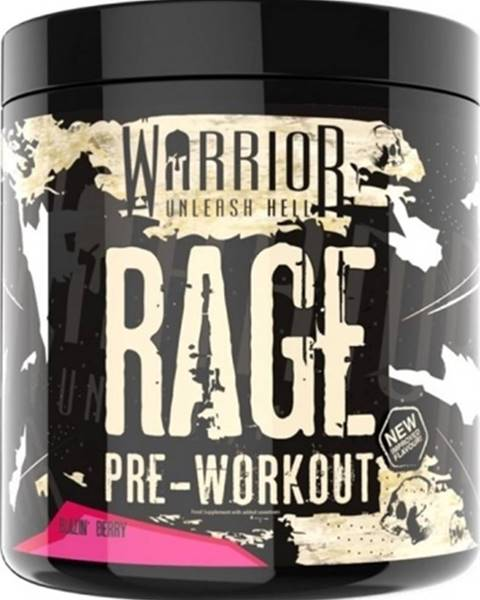 Warrior Warrior Rage Pre-Workout 392 g variant: ovocie