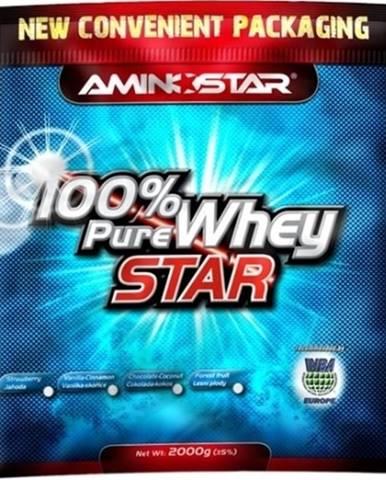 Aminostar 100% Pure Whey Star 2000 g variant: jahoda
