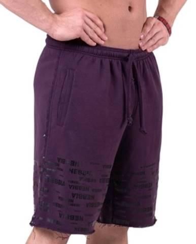 Nebbia Raw Hem Street šortky 151 fialové variant: XL