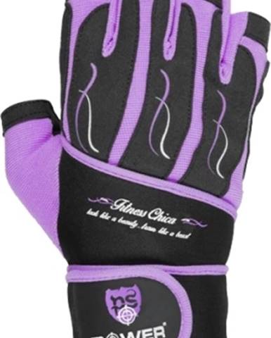 Power System Women fitness rukavice Fitness Chica fialové variant: L