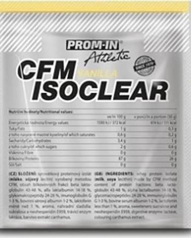 Prom-IN CFM IsoClear 30 g variant: čokoláda