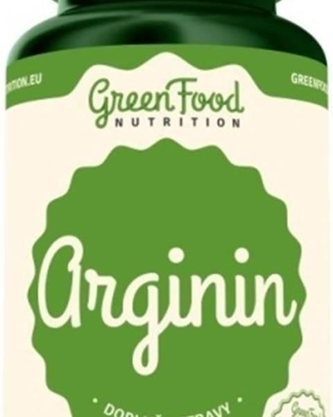 GreenFood GreenFood Arginín vegan 120 kapsúl