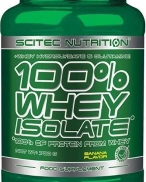 Scitec Nutrition Scitec Nutrition Scitec 100% Whey Isolate 700 g variant: banán
