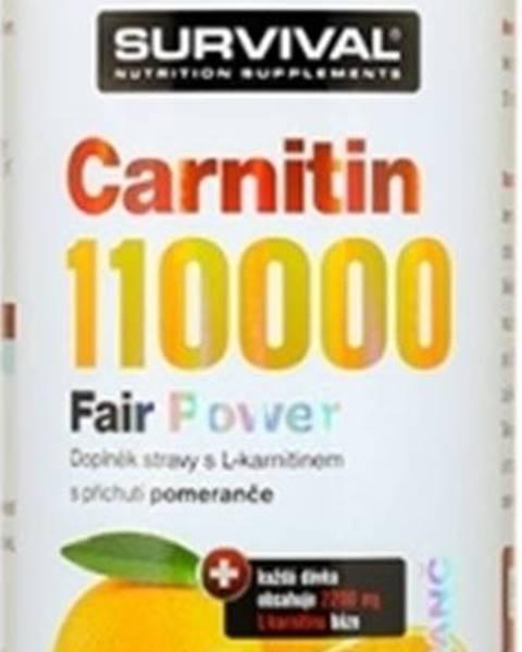 Survival Survival Carnitin 110000 1000 ml variant: citrón