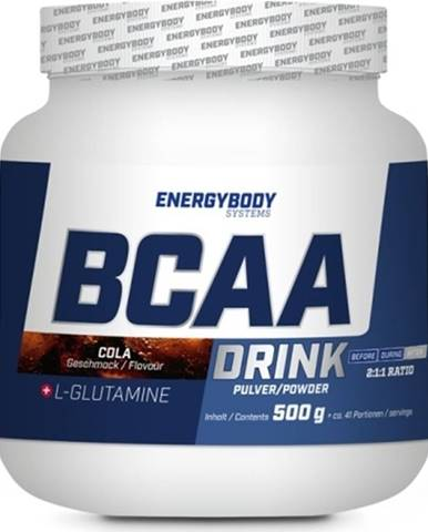 EnergyBody BCAA + L-Glutamine Drink 500 g variant: citrón