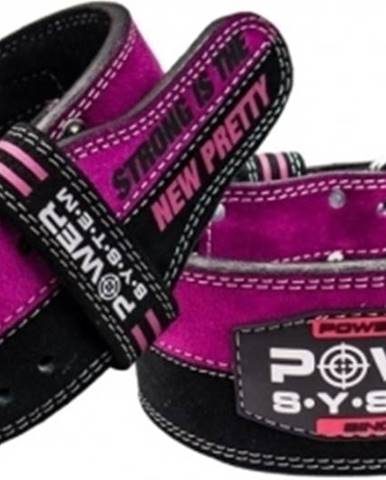 Power System Powerlifterský opasok Strong Femme ružový variant: M