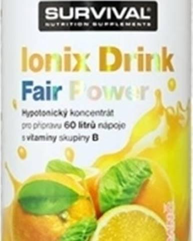 Survival Ionix Drink 1000 ml variant: citrón