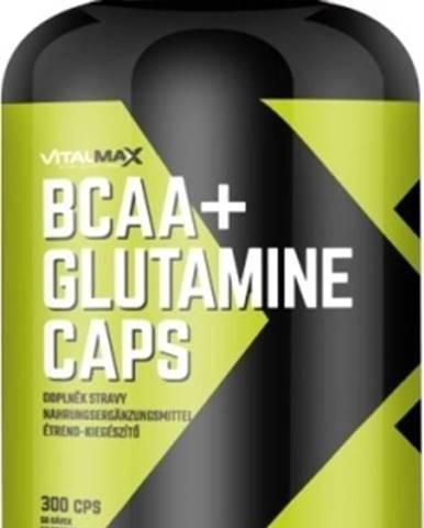 Vitalmax BCAA+ Glutamín Caps 300 kapsúl