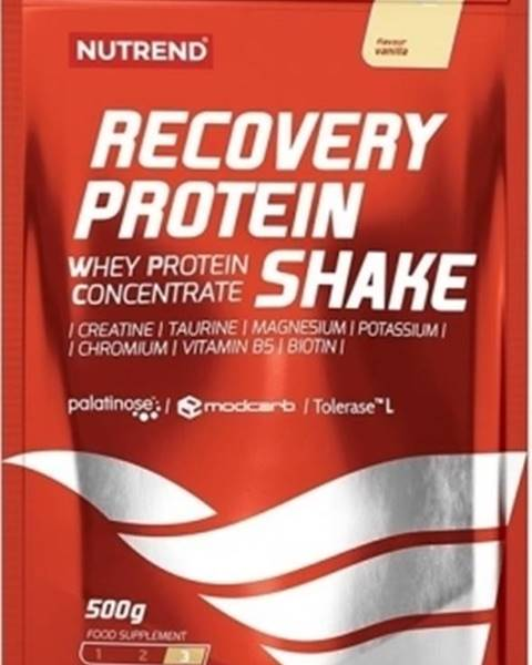 Nutrend Nutrend Recovery Protein Shake 500 g variant: jahoda