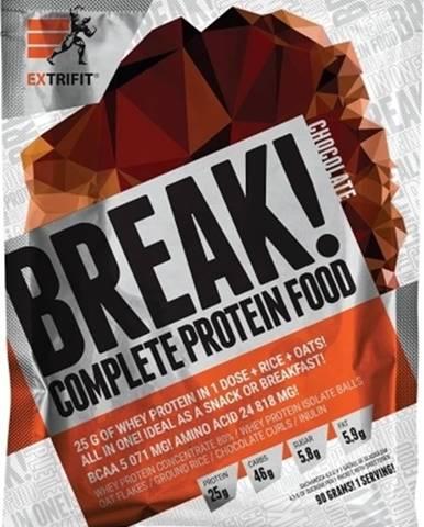 Extrifit Protein Break! 90 g variant: čučoriedka