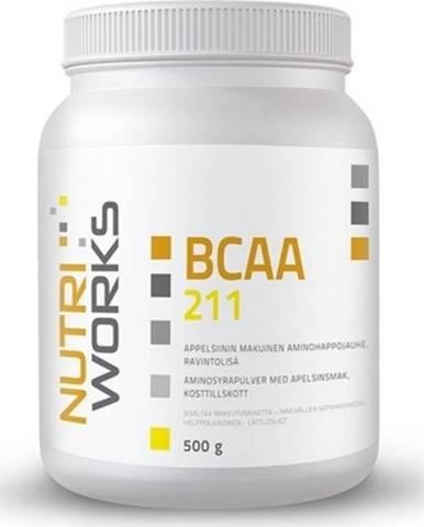 NutriWorks BCAA 2:1:1 500 g variant: pomaranč