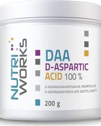 Nutriworks Daa D-Aspartic Acid 200 g