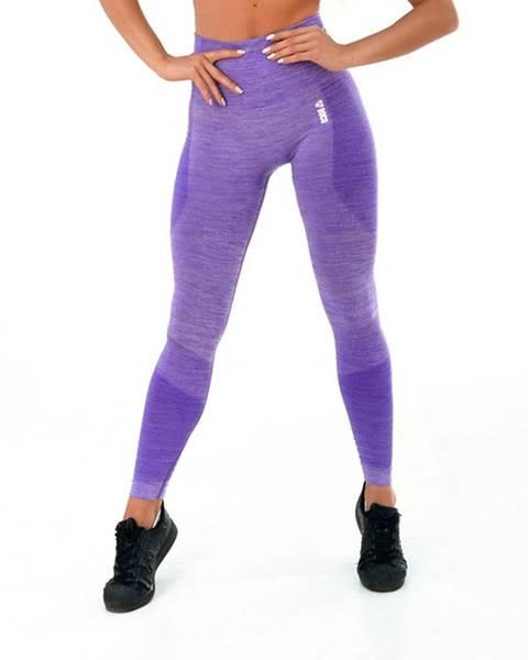 Boco Wear Dámske legíny Boco Wear Violet Melange Push Up fialová - XS/S