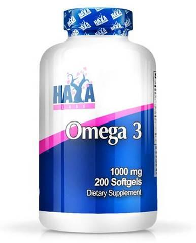 Haya Labs Omega 3 1000mg Hmotnost: 100 kapslí
