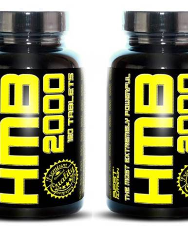 1+1 Zadarmo: HMB 2000 od Best Nutrition 120 tbl. + 120 tbl.