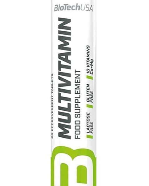 Biotech USA Multivitamín šumivé tablety - Biotech USA 20 tbl. Orange