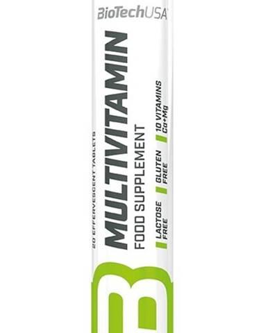 Multivitamín šumivé tablety - Biotech USA 20 tbl. Orange