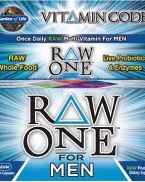 Garden of life Garden Of Life Vitamín Code Raw One - pre Mužov 75 kapsúl