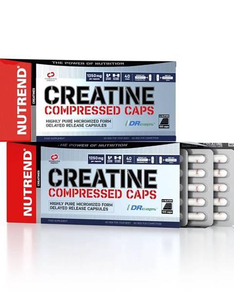 Nutrend Kreatin Nutrend Creatine Compressed Caps 120 kapsúl