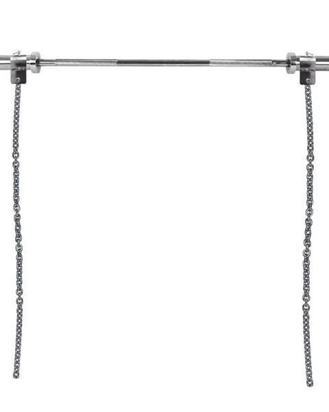 Insportline Vzpieračské reťaze s tyčou inSPORTline Chainbos Set 2x10 kg