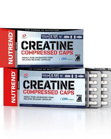 Kreatin Nutrend Creatine Compressed Caps 120 kapsúl
