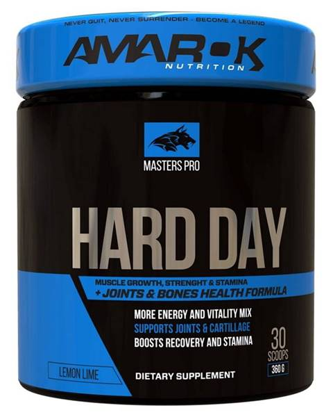 Amarok Nutrition Masters Pro Hard Day - Amarok Nutrition 360 g Lemon Lime