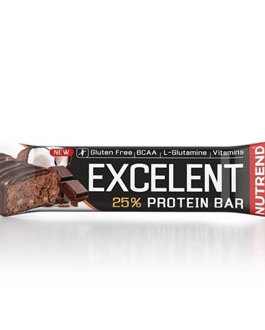 Nutrend Excelent Protein Bar 85 g čokoláda lieskový oriešok