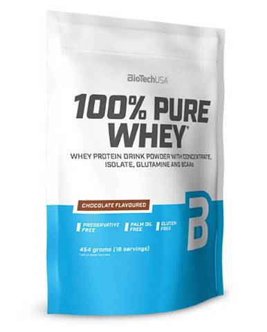 BioTech USA BioTech 100% Pure Whey 454 g variant: banán