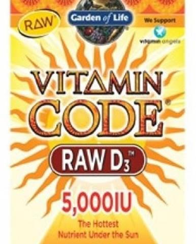 Garden Of Life Vitamín D3 Raw 5000 IU 60 kapsúl