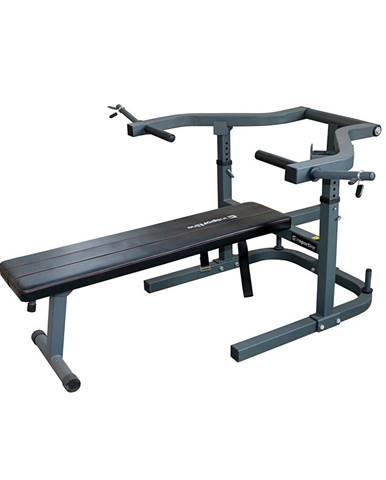 Bench press lavica inSPORTline LKM715 - Záruka 10 rokov