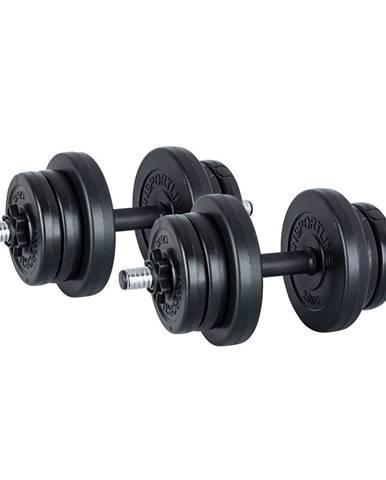 Jednoručný nakladací činkový set  inSPORTline DBS2181 2 x 3-10 kg