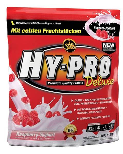 All Stars All Stars Hy-Pro 85 Protein Deluxe 500 g malinovo-jogurtové smoothie