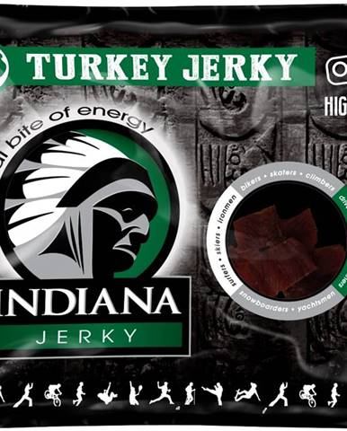 Indiana Jerky Morčacie 25 g