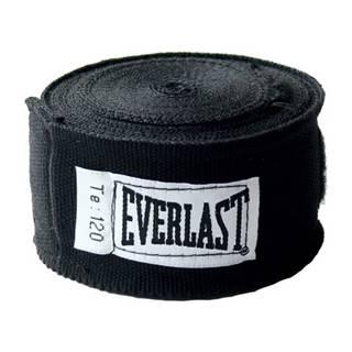 Boxerské bandáže Everlast Pro Style Hand Wraps 300 cm čierna
