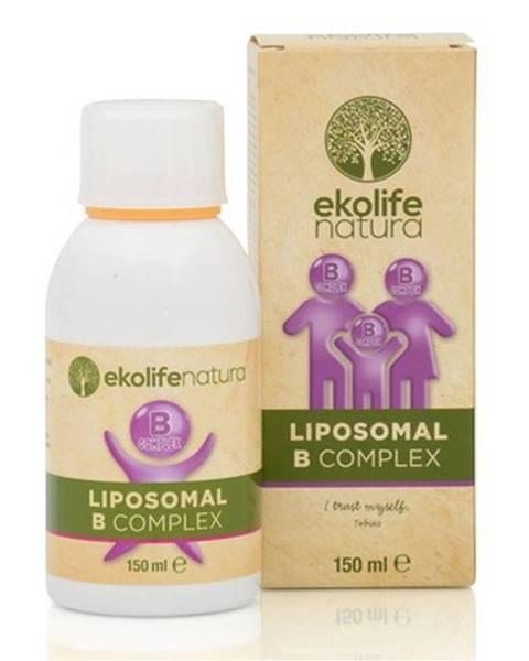 Ekolife Natura Ekolife Natura Liposomal B Complex (Lipozomálny B-complex) 150 ml