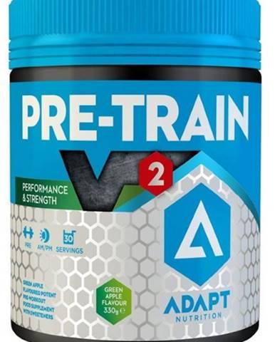 Adapt Nutrition Pre-Train V2 330 g variant: modrá malina