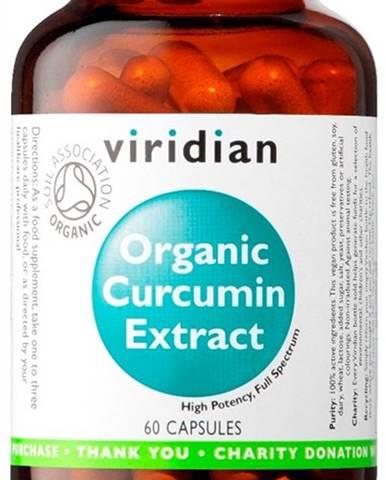 Viridian Curcumin Extract Organic 60 kapsúl
