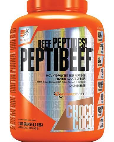 Extrifit PeptiBeef 2000 g variant: čokoláda - kokos