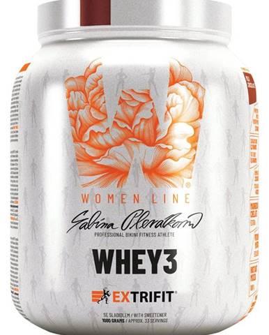 Extrifit Whey 3 1000 g variant: vanilka - mandle