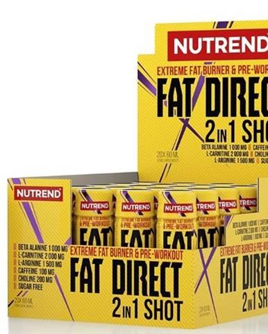 Nutrend Fat Direct Shot 60 ml variant: bez príchuti