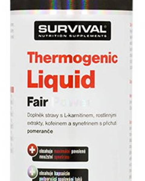 Survival Survival Thermogenic Liquid Fair Power 1000 ml variant: pomaranč