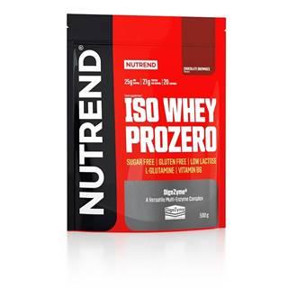 Nutrend ISO Whey ProZero 500 g variant: čokoláda - brownie