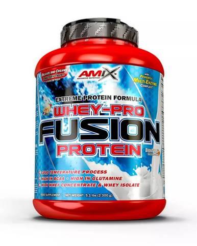 AMIX Whey Pure Fusion 2300 g cookies & krém