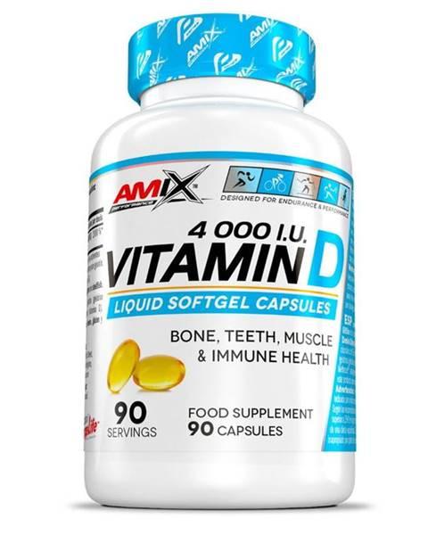 Amix Nutrition Amix Vitamín D 4000 I.U. 90 kapsúl