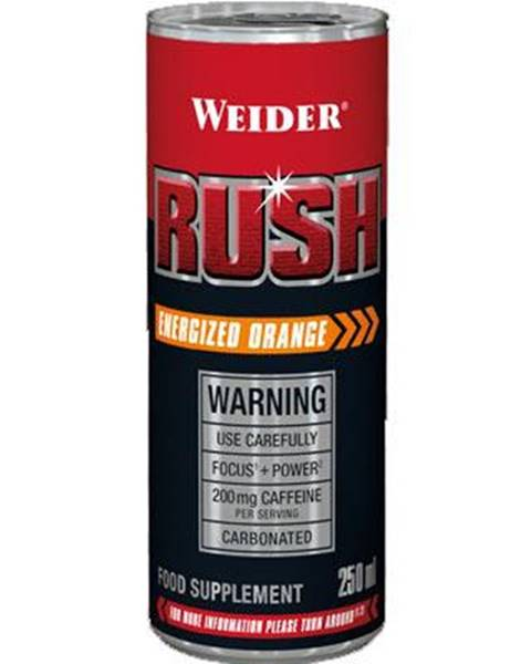 Weider Weider Rush RTD 250 ml variant: pomaranč