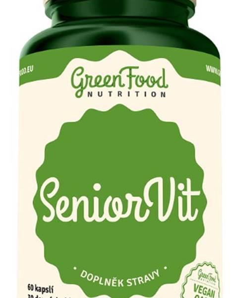 GreenFood GreenFood SeniorVit 60 kapsúl