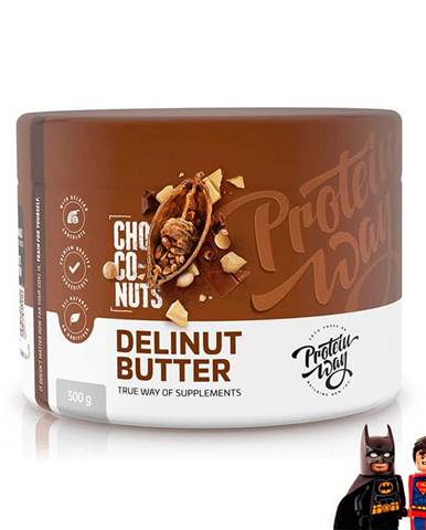 Protein Way DeliNut butter Hmotnost: 500g