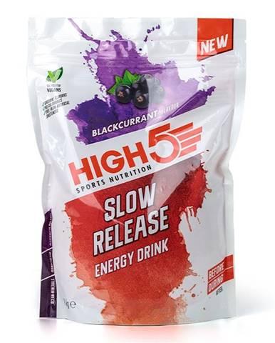 High5 Energy Drink Slow Release 1000 g variant: čierne ríbezle